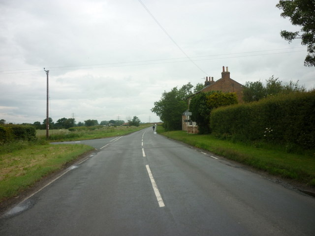 West Lane at the junction with Ings Lane