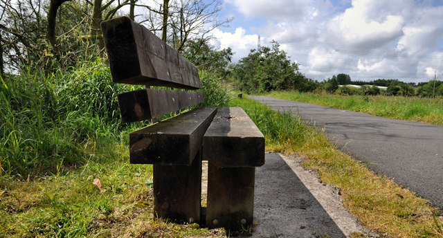 Seat, Lagan towpath, Ballyskeagh/Lambeg