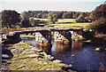 SX6478 : Clapper Bridge, Postbridge, Dartmoor by nick macneill