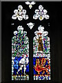 SE2280 : Stained glass window, St Mary's Church by Miss Steel