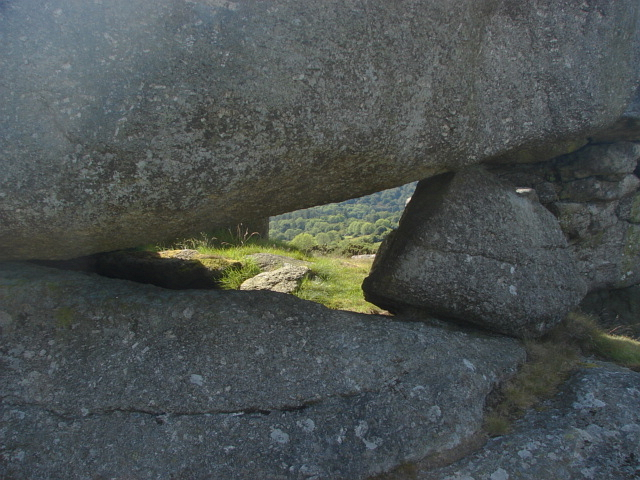 Hole in the rocks