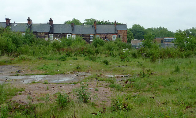 Derelict land at Shelton, Stoke-on-Trent
