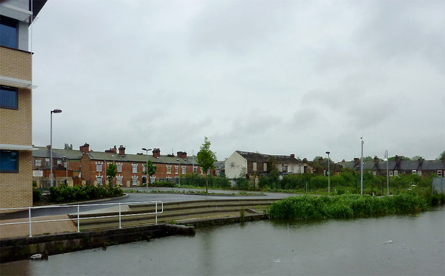 By the Caldon Canal at Shelton, Stoke-on-Trent