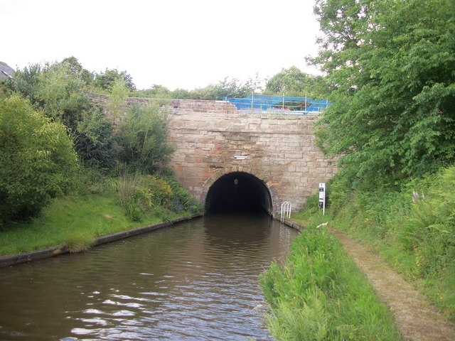 Tardebigge Tunnel Worcester and Birmingham Canal