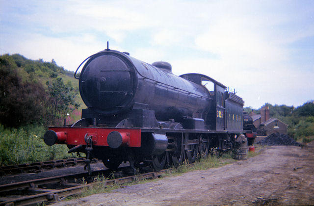 Restoration project at Grosmont