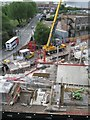 SP0787 : Hotel LaTour construction site: 2 by Robin Stott