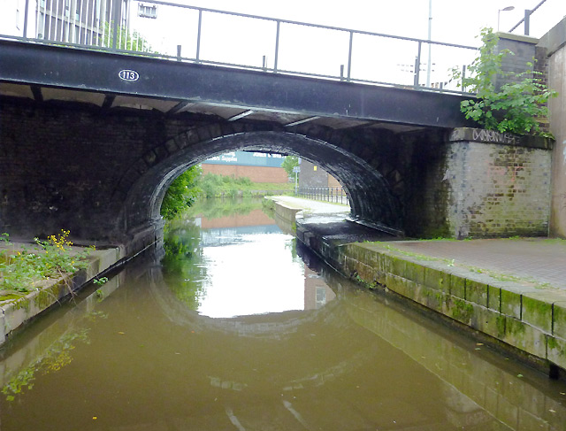 Canal bridge in Stoke-on-Trent
