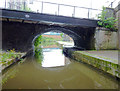 SJ8845 : Canal bridge in Stoke-on-Trent by Roger  Kidd