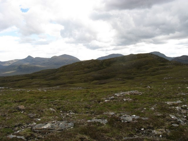 View towards Carn Breac Mor