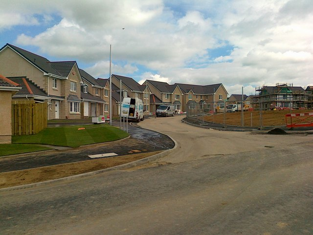 New Housing off Uryside Drive