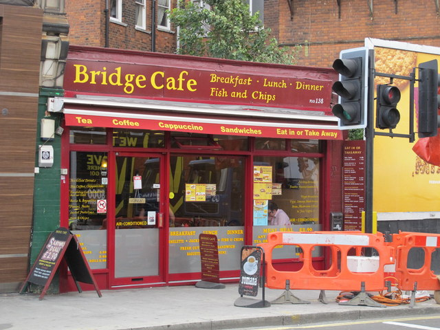 Bridge Cafe, West End Lane, NW6