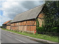 TL0852 : Barns at Renhold by M J Richardson