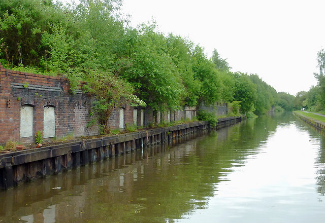 Trent and Mersey Canal near Mount Pleasant, Stoke-on-Trent