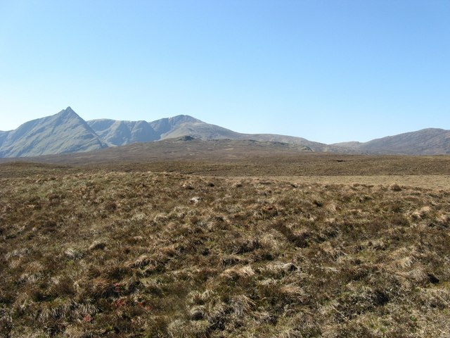 Moorland to east of Strath Mulzie