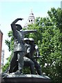 TQ3281 : The National Firefighters Memorial by David Smith
