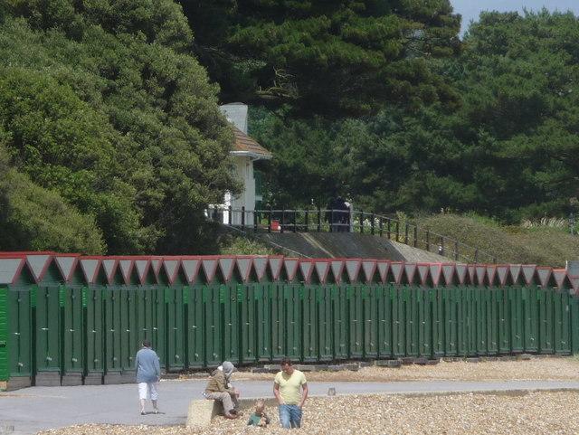 Mudeford: Avon Beach beach huts