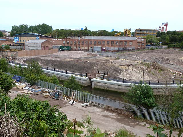 Regeneration on the Ouseburn