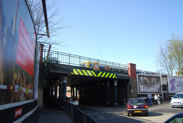 Railway bridge, Portland Rd