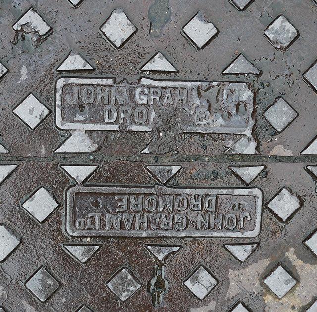 Manhole cover, Ballycastle