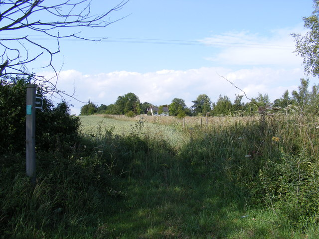 Footpath to Lampardbrook Farm