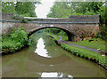 SJ8837 : Bridge No 101 south of Barlaston, Staffordshire by Roger  Kidd