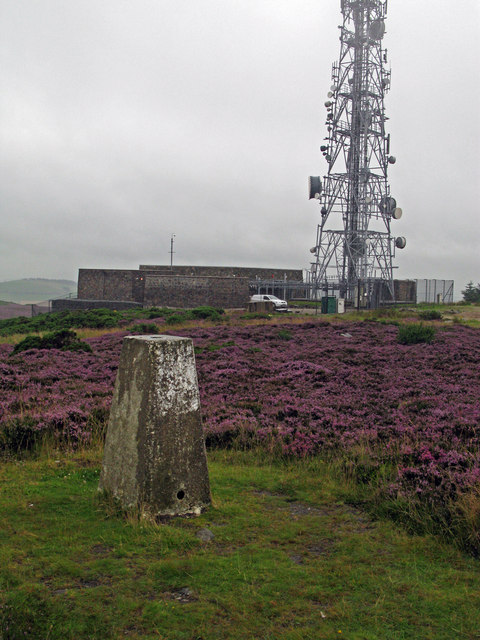 Trig point on Brimmond Hill
