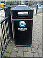 SD9205 : Bin in Oldham by Steven Haslington