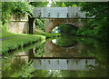 SJ8935 : Bridges north of Meaford Locks, Staffordshire by Roger  Kidd