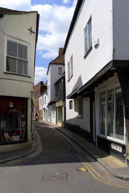 Potter Street, off Strand Street, Sandwich