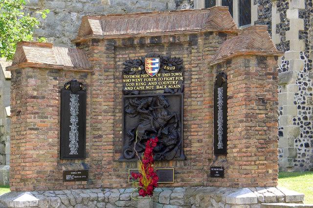 The War Memorial, Sandwich