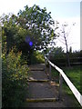 TM2660 : Path to Kettleburgh Village Green by Adrian Cable