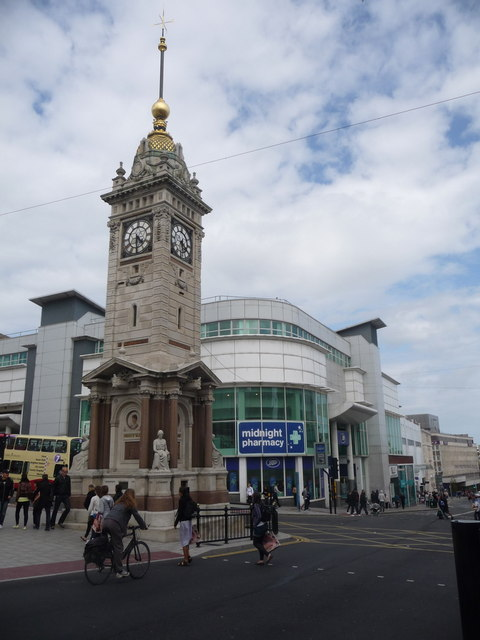 Brighton: the clock tower