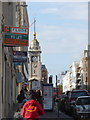 TQ3004 : Brighton: the clock tower from West Street by Chris Downer