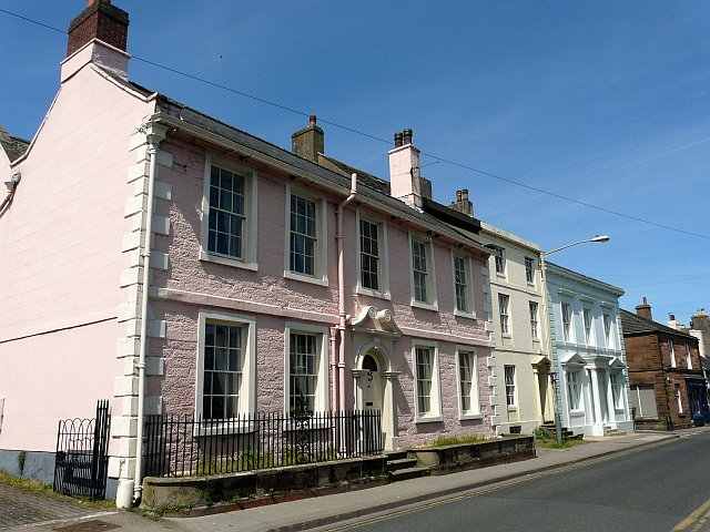 Smart townhouses in West Street