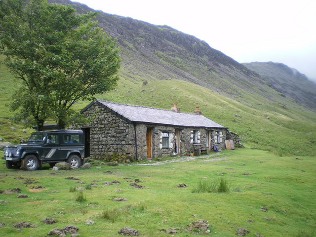 Black Sail Hut Amp Youth Hostel 169 Richard Law Geograph
