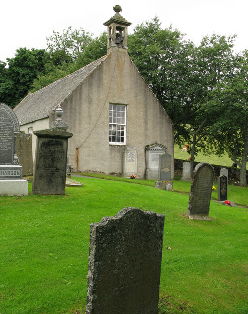 Church and graveyard at Glenbuchat