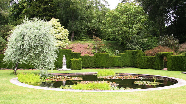Fish Pond In The Formal Garden At Alan Walker Cc By
