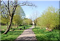 TQ3469 : Footpath, South Norwood Lake and Grounds by Nigel Chadwick