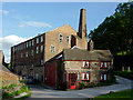 SJ9752 : Cheddleton Flint Mill Museum, Staffordshire by Roger  Kidd