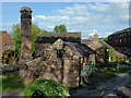 SJ9752 : Cheddleton Flint Mills, Staffordshire by Roger  Kidd