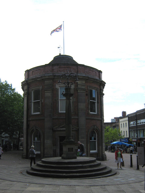 North end of the Guildhall