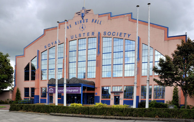 Knit And Stitch Show Kings Hall Belfast : The Kings Hall, Balmoral, Belfast (1) ? Albert Bridge :: Geograph Ireland