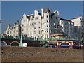 TQ3003 : Brighton: corner of West Street from the beach by Chris Downer