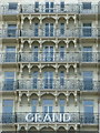 TQ3004 : Brighton: Grand Hotel balconies by Chris Downer