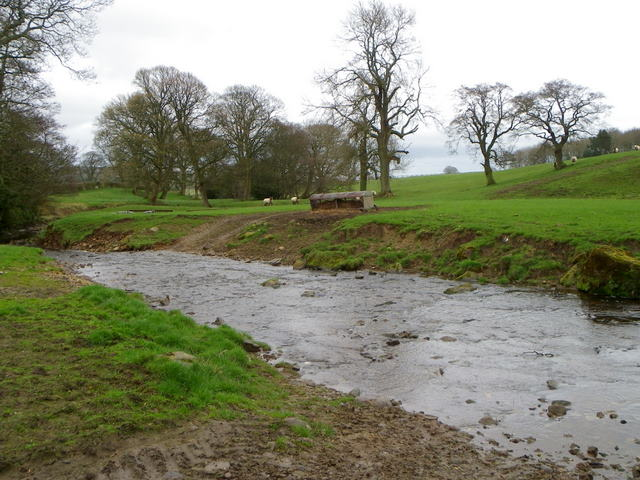 Langley Beck near Kinninvie