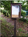 TG0524 : St.Andrew's Church Notice Board by Adrian Cable