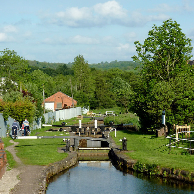 Cheddleton Locks, Staffordshire