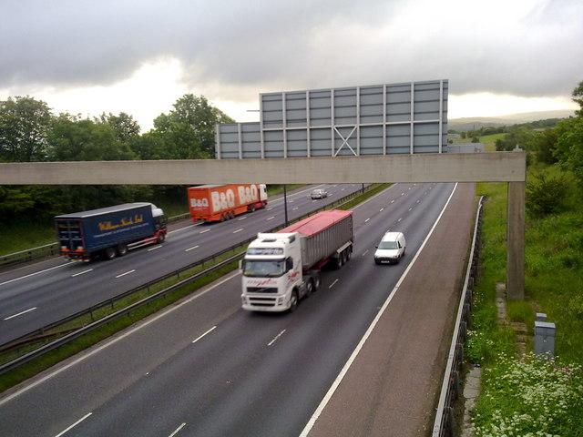 M62 motorway, Rochdale