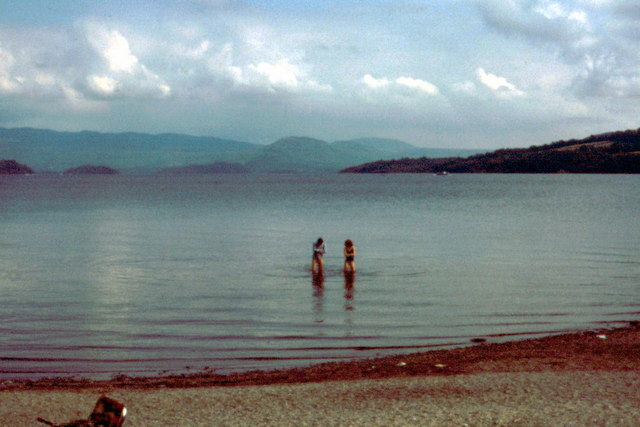 Loch Lomond, Duck Bay near Arden - 1979
