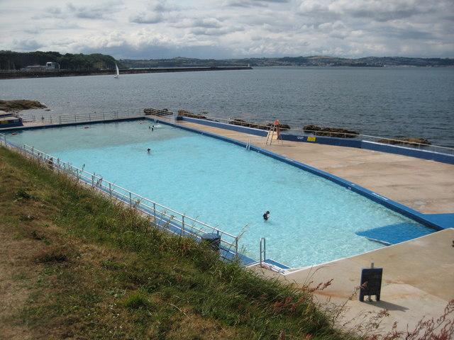 swimming pool brixham philip halling geograph britain and ireland